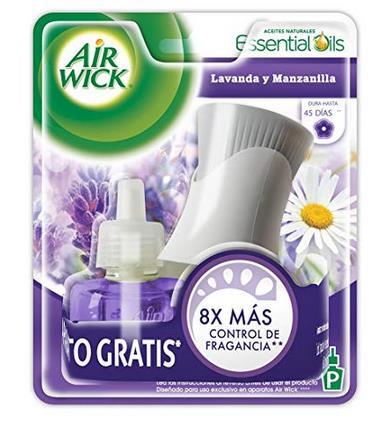 APARATO ELECTRICO C/ 1 REPUESTO  AIR WICK TURQUISE